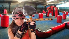 Indoor Paintball bei uns