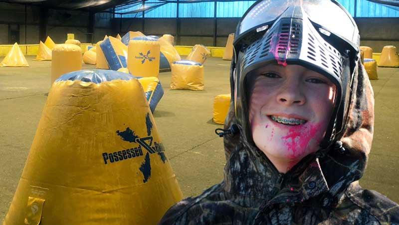 paintball spieler kind 2019