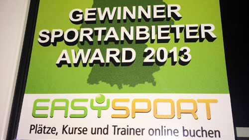 Kickerworld Gewinner Sportanbieter Award 2013