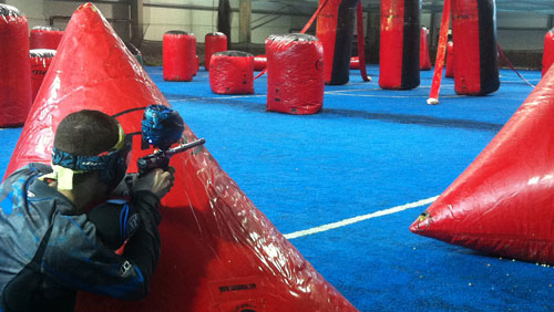 Paintball in Berlin Indoor