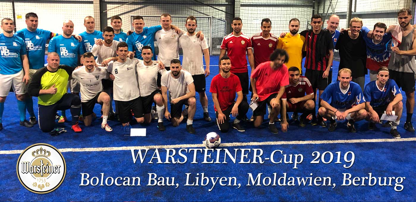 Top 4 Teams: Bolocan Bau, FC Moldawien, Team Libyen, Spvgg Berburg